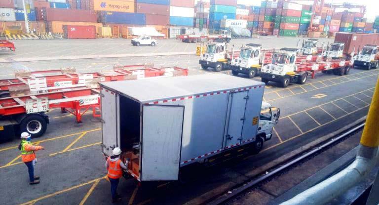 APM-CAMION-ship-supplies-callao-OM-peruvian-ship-chandler-truck